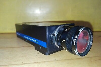 Sony XC-37 / DC-37, CCD Video Camera Module, Power Unit, Video Kamera  Objektiv