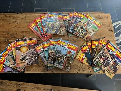 VINTAGE Look and Learn magazines, from Sept 1975 to Nov 1977 (111 copies)
