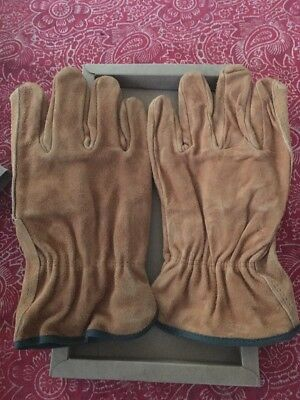 NIB Marlboro Leather Suede Work Glove Size Large - Undivided America's Trails