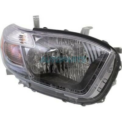 New Right Head Light Assembly Fits 2010 Toyota Highlander To2503202C Capa