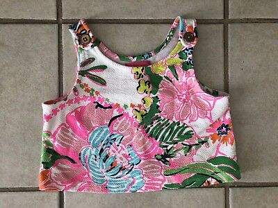 Girl's Lilly Pulitzer By Target Crop Top Small 6/6x