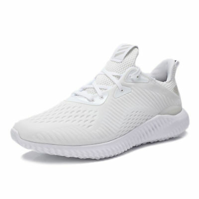 Adidas Men's AlphaBounce EM White/Grey BY4426 Size 8.5