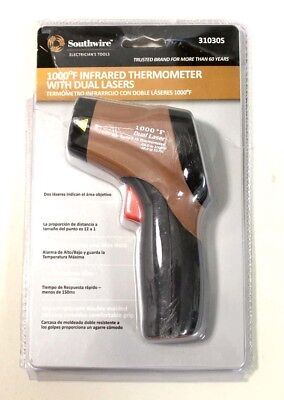 New Southwire 31030S Infrared Thermometer With Dual Lasers