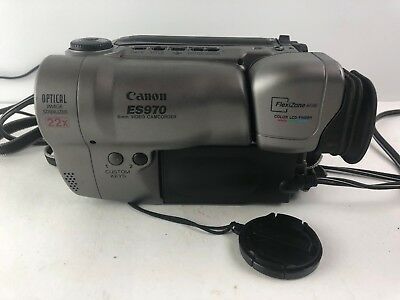 Canon ES970 8mm Video Camcorder  & CHARGER
