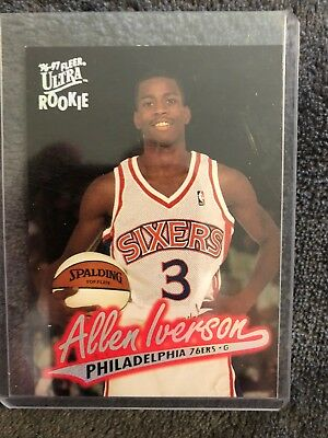 basketball cards Allen Iverson Rookie Card