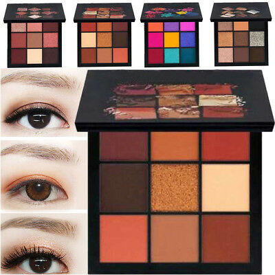 9 colori Shimmer Matte Eyeshadow Eye Shadow Makeup Palette Glitter Set cosmetici