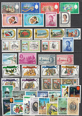 Dominica - small stamp collection - MH/MNH