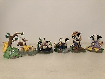 Mary's Moo Moos - Lazy Days Of Summer 2001 Lot - Hamilton Collection Exclusive