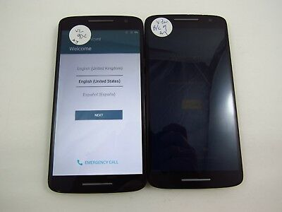 Lot of 2 Google Locked Motorola Droid Maxx 2 XT1565B Verizon Check IMEI GL 3-365