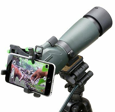 Universal Smartphone Optic Adapter iPhone Galaxy Telescope Spotter Microscope