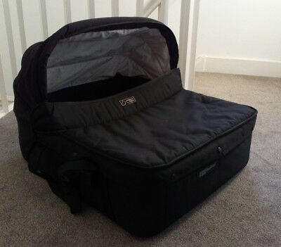 Mountain Buggy Duo Double Bassinet Black