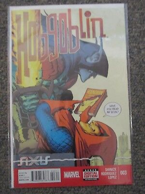 (CS8334) Axis Hobgoblin (Marvel) #3 2015 Very Fair-Good