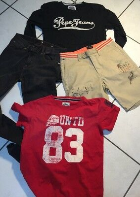 Lot Garcon 16 Ans Jean Skinny Dc Top Pepe Jeans Camps Short Scotch&soda