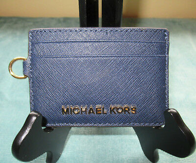 Woman's Michael Kors Credit Card/ID Holder/Wallet Navy