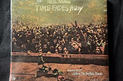 Neil Young Time Fades Away/Where The Buffalo Roam 2 on 1 CD Digipak New + Sealed