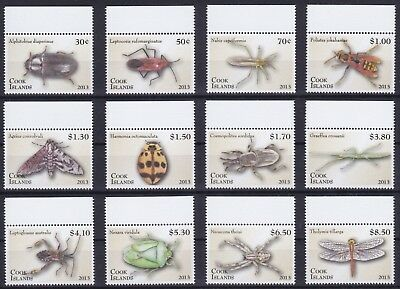 Cook Islands Mi-Nr. 1850 - 1861 **, Insekten / Insects I (63 ME)
