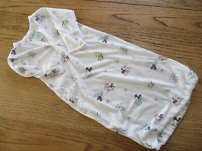Vtg DUNDEE Sleep Gown, MICKEY MOUSE Newborn Small 0-13 lbs. REBORN DOLL OUTFIT