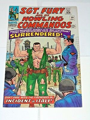 Sgt. Fury And The Howling Commandos #30 comic (9.0 VF/NM) 1966