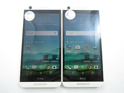 Lot of 2 HTC Desire 626 OPM9200 Boost Mobile Check IMEI Good Condition 4-683