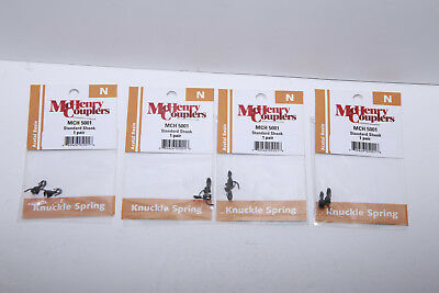 Athearn Trains N-Scale McHenry Couplers MCH 5001 - Lot of 4 Pairs - 8 Total!