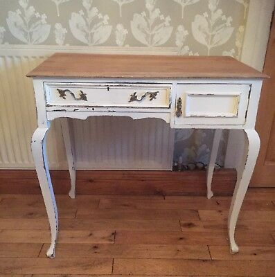 Lovely Little Painted Mahogany Desk / Dressing Table circa 1910