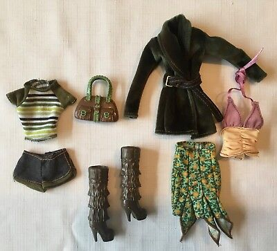 Barbie  Fashion / MY SCENE Clothes  Boots Madison Skirt Jacket Tops Pants