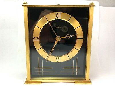 Jaeger Vintage 8 Day Alarm & Music Clock, Hand Wind, Great Condition, Works