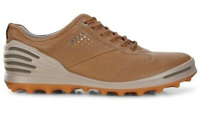 e7c50715ad212 NEW ECCO MENS CAGE PRO GOLF Shoes, HydroMax Leather, EU 41 US 7/7.5 ...