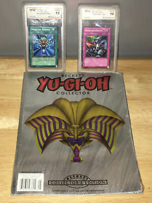 2005 Beckett Yu Gi Oh Collector's Guide April/May #5 2001 Upper Deck SDY-030 033