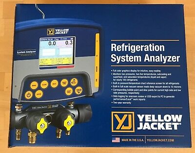Yellow Jacket 40815 Refrigeration System Analyzer - NEW IN BOX