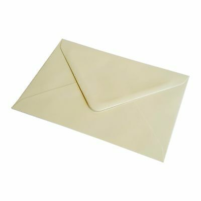 Ivory 130gsm Greeting Card Party Invitations Crafts C5 C6 C7 DL Square Envelopes