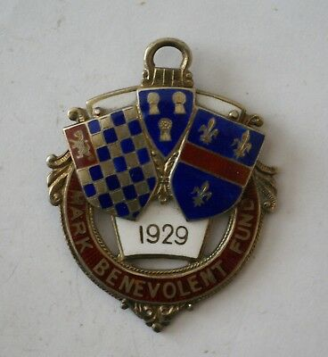 1929 Mark Benevolent Fund jewel