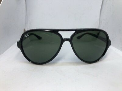 880b9ddcf1 RAY-BAN RB4125 CATS 5000 Black Sunglasses RB 4125 601 -  37.00 ...
