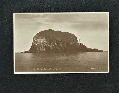 Vintage Unused Postcard - Bass Rock, North Berwick