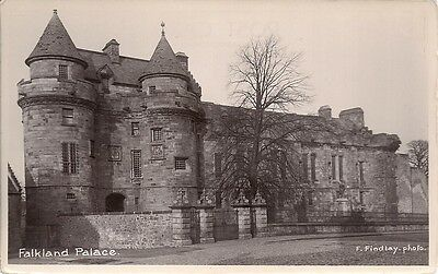 Superb Scarce Old Real Photo Postcard - Falkland Palace - Falkland - Fife C.1939