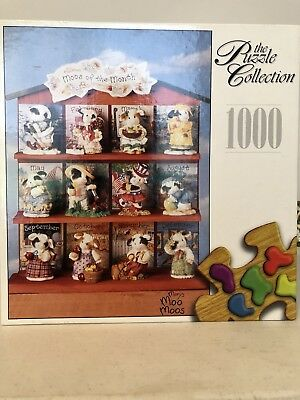 Mary's Moo Moos - The Puzzle Collection - Moos of The Month Puzzle - Brand New