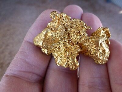 Acid FREE superb 75gr Gold Nugget  for a collector or investment  (Nullagine WA)