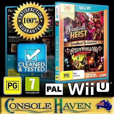 (Wii U Game) Steamworld Collection / Steam World Heist & Dig (PG) PAL,Guaranteed