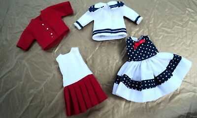 8 Inch Betsy Mccall  Gift Set All American ~~ Very Nice ~~ Clothes Only ~