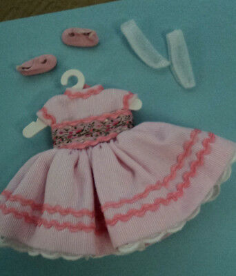 "8 Inch Betsy Mc Call Outfit  "" Rosebud ""  ~ Dress, Shoes & Socks  ~~Very Nice ~~"