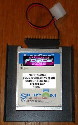 Merit Solid-State-Drive (No Moving Parts) Force 2008.5 Ide Ssd Drive Megatouch