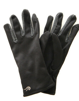 WHOLESALE LOT - 12 Ideology Womens Classic Black Gloves