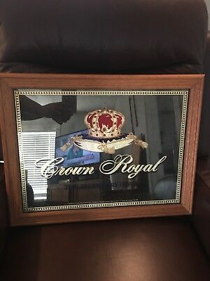 Crown Royal Mirrored Sign