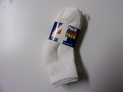 4 Pair Value Pack Boys Socks