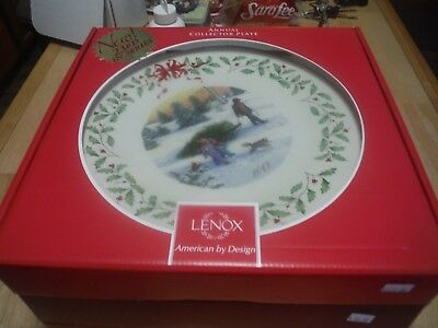 Lenox HOLIDAY ANNUAL CHRISTMAS PLATE 2013 Holiday Plate 23rd in series
