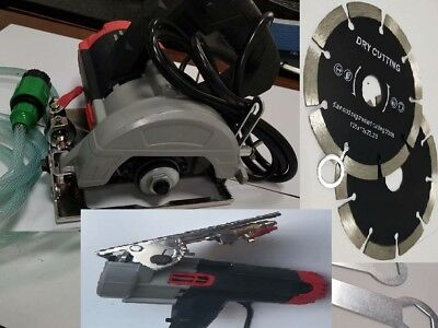 """Wet Stone Cutter granite marble Saw 10 Pieces 5"""" Diamond cutting blade concrete"""