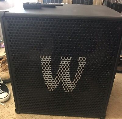 Warwick 4x10 Bas Cabinet in Good condition.