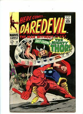 Daredevil #30 (1967) Thor Appearance FN+