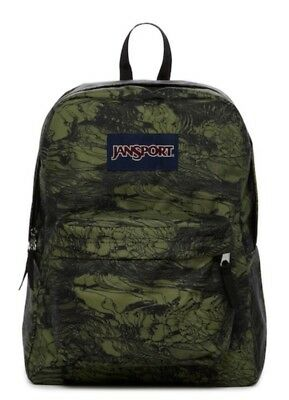 """New with tags JANSPORT Superbreak Backpack """"military """""""