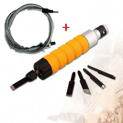 Electric Chisel Carving Tools with Shaft Wood Carve Machine 220V